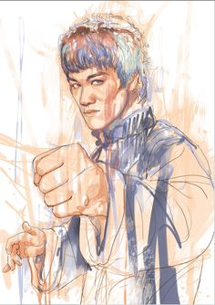An early step snap shot of Bruce Lee 10