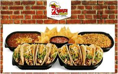 Plan your event with Krazy Lizard Taqueria Catering Box and get the best Mexican discount! 	 #Mexicanrice #blackbeans #cateringbox #salsa #flavors #yummy #spicy #hot #fresh #organic #healthy #food #Mexicantaste #krazylizardtaqueria