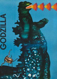 Toho. Godzilla. 1977.