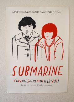Submarine, illustration by Lizzy Stewart.