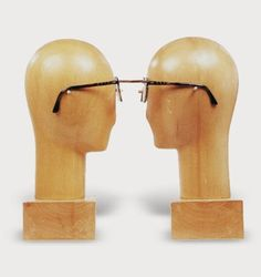 Glasses for nearsighted lovers Impossible Objects by Jacques Carelman
