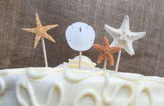 A personal favorite from my Etsy shop https://www.etsy.com/listing/234408634/beach-party-food-picks-beach-party-cake