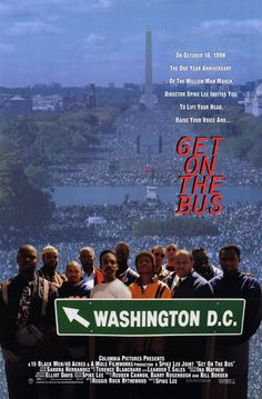 Movie poster for 'Get on The Bus'.