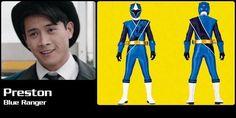 Preston Blue Ninja Steel Ranger