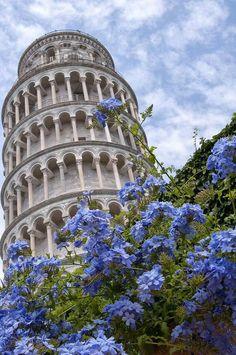 Torre de Pisa, Toscana, Italia. Tomada de: Amazing Nature