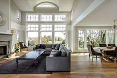 Great Room Window Design Ideas, Pictures, Remodel and Decor