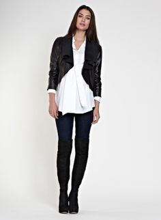 Lucy Leather Jacket   Jacket   Isabella Oliver
