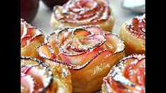 Baked Apple Roses Recipe - How to make apple rose tart - YouTube