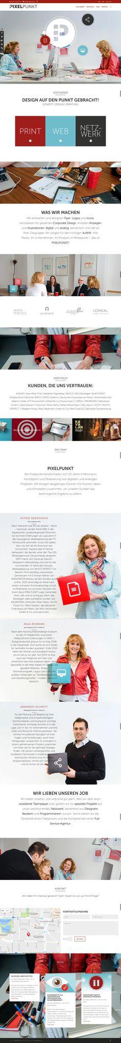 PixelPunkt Website Designs, Web Inspiration, Wordpress Theme, Web Design, Advertising Agency, Design Web, Site Design, Wordpress Template, Design Websites