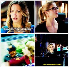 Laurel and Felicity supporting each other #Arrow #3.12 #3.13