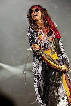 Aerosmith (Steven Tyler) | 12 juillet 2012 | Scène Bell des plaines d'Abraham | Crédit : Renaud Philippe