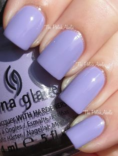 China Glaze Spring 2013 Avant Garden Collection - Tart-y For The Party