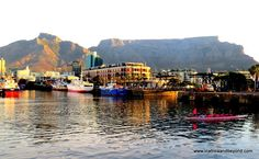 Table Mountain from the V&A Waterfront #CapeTown #SouthAfrica