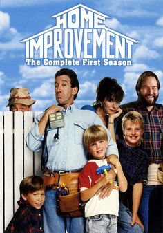 Home Improvement - Love this show. Great Tv Shows, Old Tv Shows, Mini Poster, Home Improvement Tv Show, Tokio Hotel, Vintage Tv, Classic Tv, The Good Old Days, Best Tv