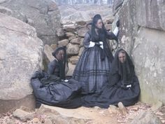 Image result for victorian mourning clothes
