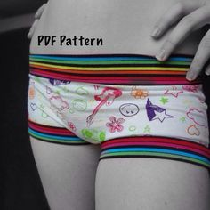 Looking for your next project? You're going to love Ladies Underwear PDF Sewing Pattern by designer SUAT. - via @Craftsy Pdf Sewing Patterns, Clothing Patterns, Boy Shorts, Gym Shorts Womens, Stitch Upon A Time, Underwear Pattern, Make Your Own Clothes, Culottes, Sewing Clothes