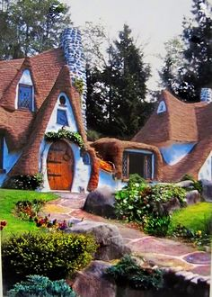 Storybook House, Olalla, Washington, United States