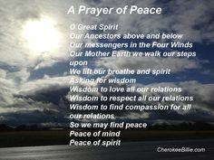 A Prayer of Peace