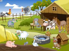 Развивающая игра «Домашние животные» Farm Yard, Speech Therapy, Family Guy, Games, Crafts, Fictional Characters, Texts, Speech Language Therapy, Places To Visit