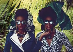 CONDE' NAST TRAVELLER'S SEPT 2015 | Stylish Siblings Cipriana and TK Quann Cover Condé Nast Traveller's ...