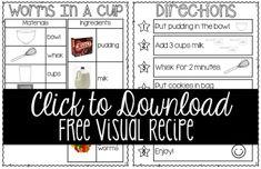 Let's Get Cooking!  BONUS: Free Visual Recipe