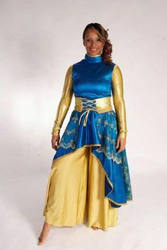 Delki Rosso Praise Dance Wear, Worship Dance, Dance Outfits, Dance Dresses, Dance Tops, Dance Costumes, Tie Dye Skirt, Ribbon Wands, Couture Ideas