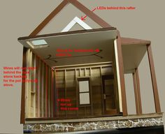 56 best dollhouse wiring with leds images on pinterest doll house rh pinterest com
