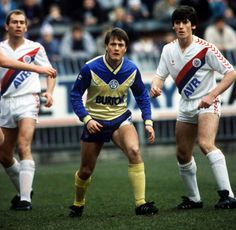 Micky Adams during one of his 73 appearances for Leeds United as the Yorkshire side lose 2-0 at Crystal Palace in November 1987