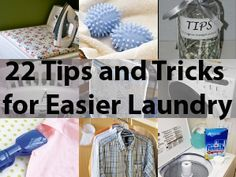 22 Tips and Tricks for Easier Laundry