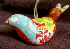 Modest Maven: Plump Partridge Ornament Tutorial