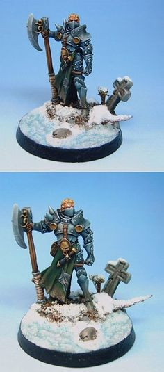 Male Knight With Weapon Assortment - Visions in Fantasy - Miniature Lines