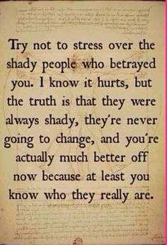 It's crazy how some people are so good at hiding their true self. Too bad they are always exposed. Your loss, not mine!