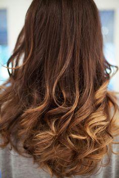 Ombré touchup at frederic fekkai fashiontoast ombre hair, ha Carmel Blonde Hair Color, Caramel Blonde, Blonde Ombre, Hair Color Pictures, Holiday Hairstyles, Hair Images, Shiny Hair, About Hair, Hair Dos