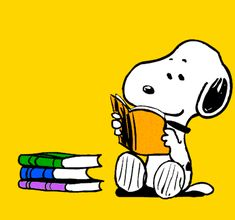 GIPHY is your top source for the best & newest GIFs & Animated Stickers online. Find everything from funny GIFs, reaction GIFs, unique GIFs and more. Peanuts Cartoon, Peanuts Snoopy, Snoopy Pictures, Disney Decendants, Mickey Mouse Art, Snoopy Quotes, Free Printable Art, Little Free Libraries, Charlie Brown And Snoopy