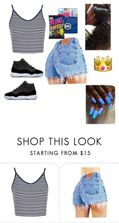 """Big And Bold "" by liloandjayy ❤ liked on Polyvore featuring Topshop and GET LOST"