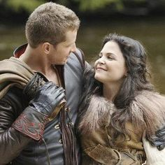 ONCE UPON A TIME, JOSH DALLAS, GINNIFER GOODWIN ENGAGED! <3