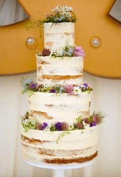ANNA Cake Couture semi-naked wedding cake