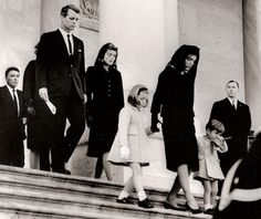 The History Place - John F. Kennedy Funeral - stunning days, no traffic, everyone home watching unbelievable events