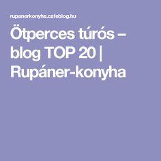 Ötperces túrós – blog TOP 20   Rupáner-konyha