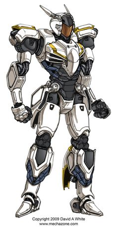 Another of the 6 mechs I made earlier this year. This is the medium class mech that goes with the light mech (freelance 01)