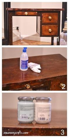 We prepare the furniture to paint it Hand Painted Furniture, Paint Furniture, Furniture Making, Furniture Makeover, Vintage Furniture, Interior Design Living Room, Interior Decorating, Diy Furniture Restoration, Chalk Paint