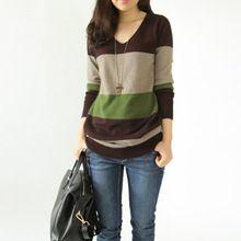 Outono inverno moda camisola de lã Cashmere mulheres vestido de malha malha Pullovers quente Tops feminino blusas de Cashmere