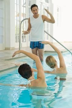 1000 Images About Pool Exercises On Pinterest Water Aerobics Pool Workout And Pool Exercises