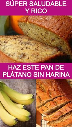 Mexican Sweet Breads, Pan Bread, Banana Bread Recipes, Sin Gluten, Coffee Cake, Healthy Desserts, Sweet Tooth, Food And Drink, Eat