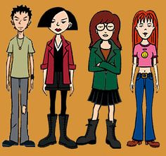 I So Wanted To Be Friends With Daria & Jane. Haha I Still Do.