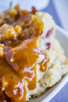 Make Ahead Turkey Gravy for Thanksgiving from The Food Charlatan Thanksgiving Gravy, Thanksgiving Appetizers, Holiday Appetizers, Thanksgiving Recipes, Holiday Recipes, Holiday Meals, Holiday Dinner, Entree Recipes, Cooking Recipes