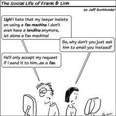 fax machine jokes