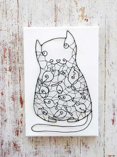 wire housecat