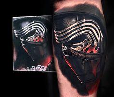 Kylo Ren tattoo by Nikko Hurtado