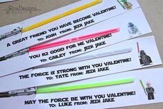 Star Wars Valentines from jRoxDesigns